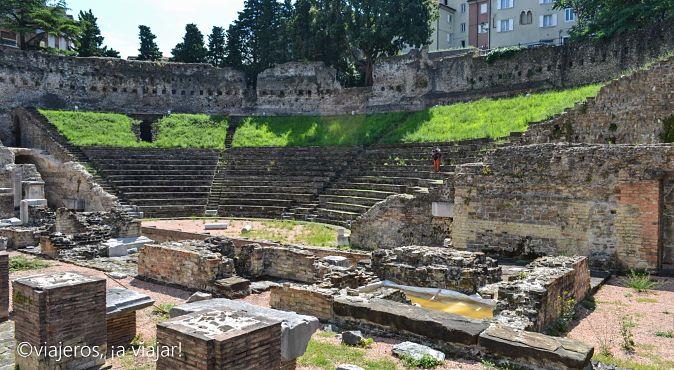 TRIESTE. Anfiteatro