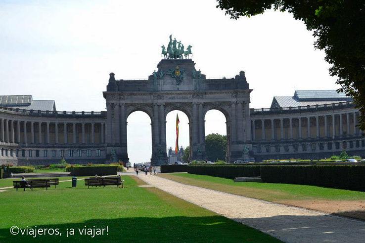 Arco del Triunfo. Bruselas
