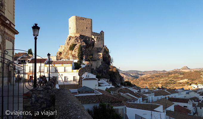 Pueblos Blancos. Castillo de Olvera