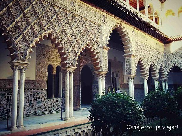 Sevilla. reales alcazares