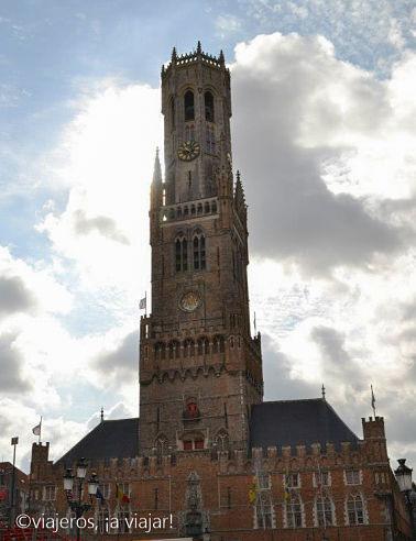 Brujas. Torre Belfort