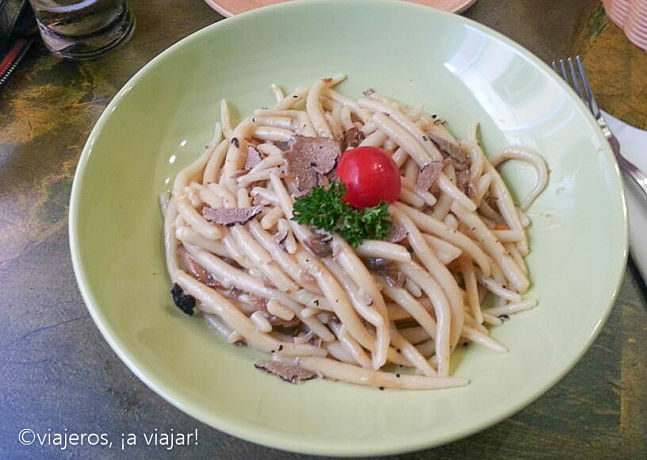 Comer en Croacia