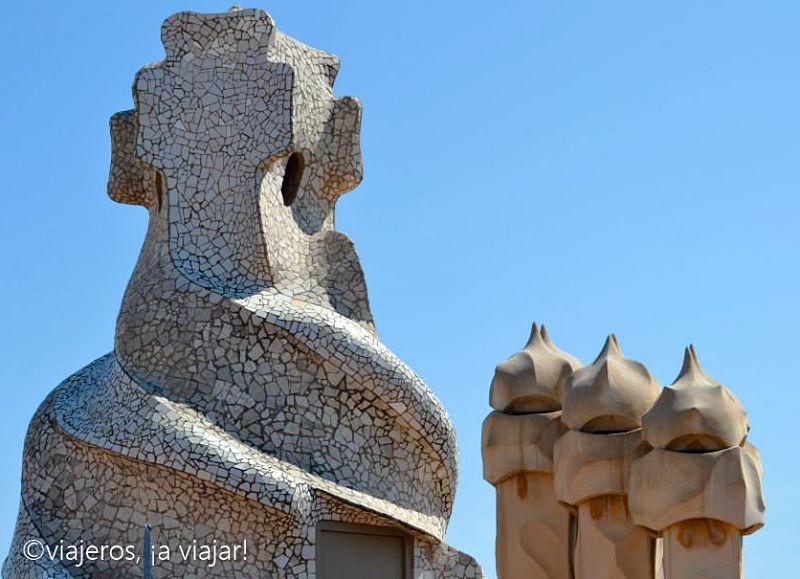 La pedrera de Gaudí en Barcelona