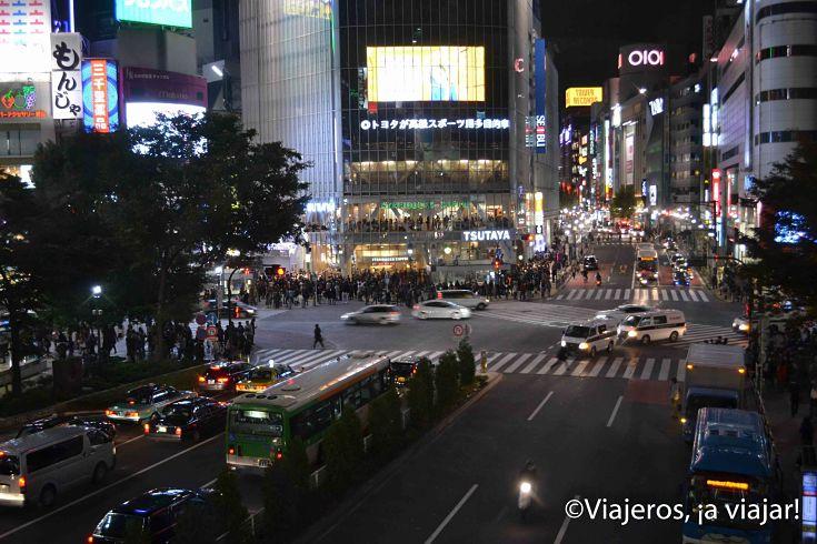 Tokio. Cruce de hachiko