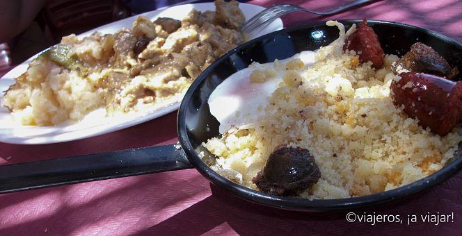 Gastronomía de Frigiliana