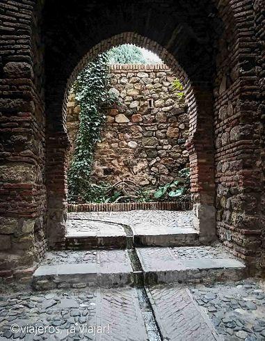 Andalucía - alcazaba de Málaga
