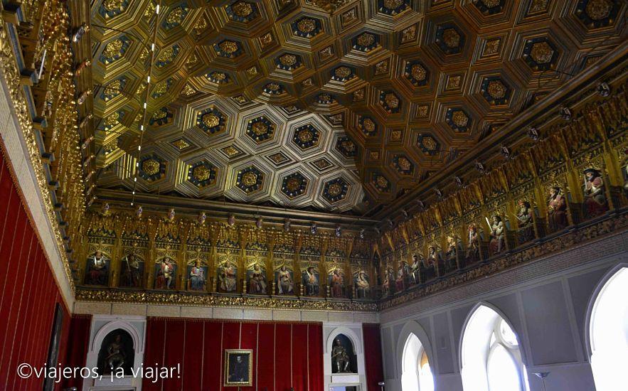 Sala Alcazar de Segovia