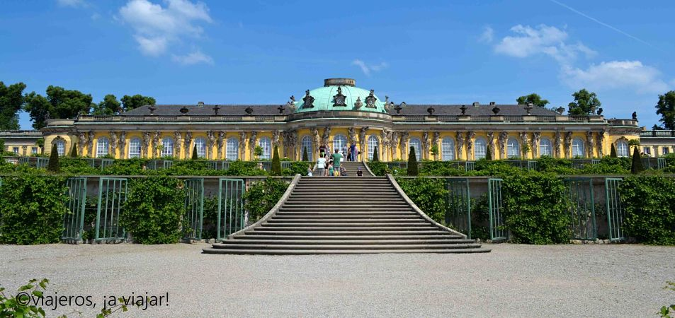 Berlin. Potsdam. Sanssouci