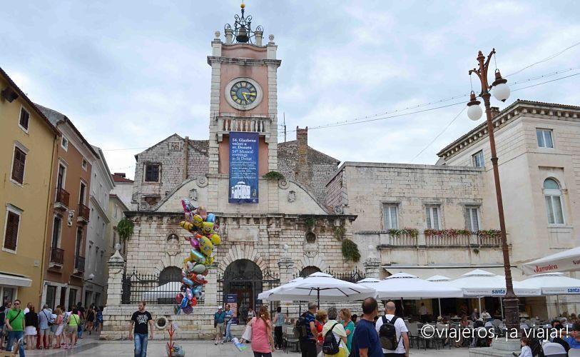 Zadar. plaza del centro