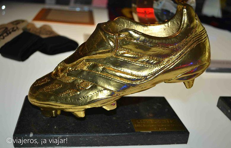 Barcelona. Bota oro Messi