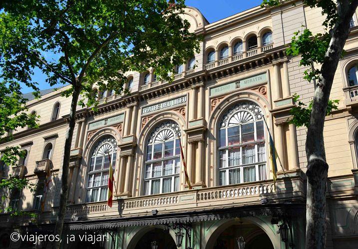 Barcelona. Liceo