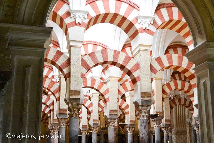 mezquita - arcos. Andalucía