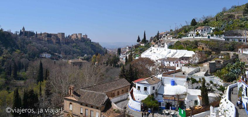 La Alhambra desde el Sacromonte de Granada