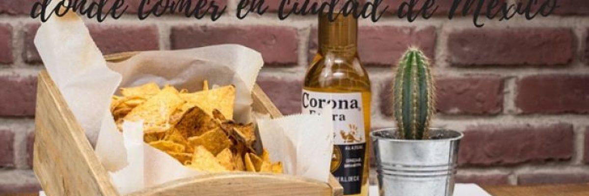 Comer en Mexico. Portada