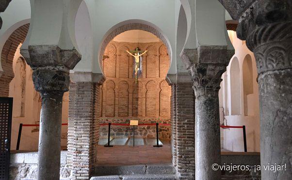Cristo de la Luz.Columnas