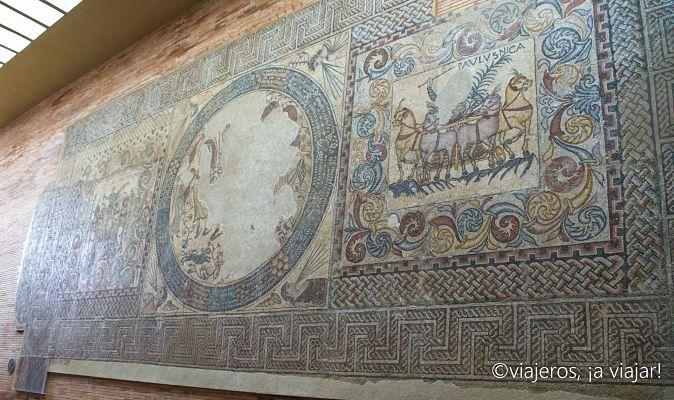 EXTREMADURA. Mosaico Romano