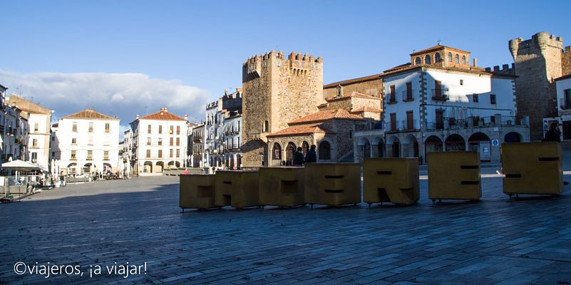 EXTREMADURA. Plaza Mayor Cáceres