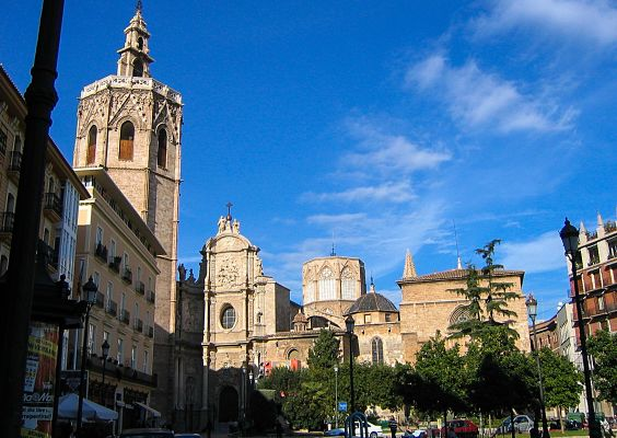 Playas Valencianas. Centro histórico
