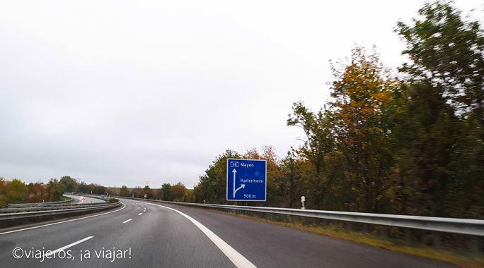Conducir en Alemania, Autovías
