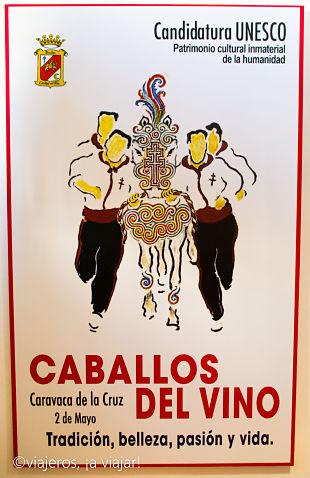 Cartel de los Caballos del vino