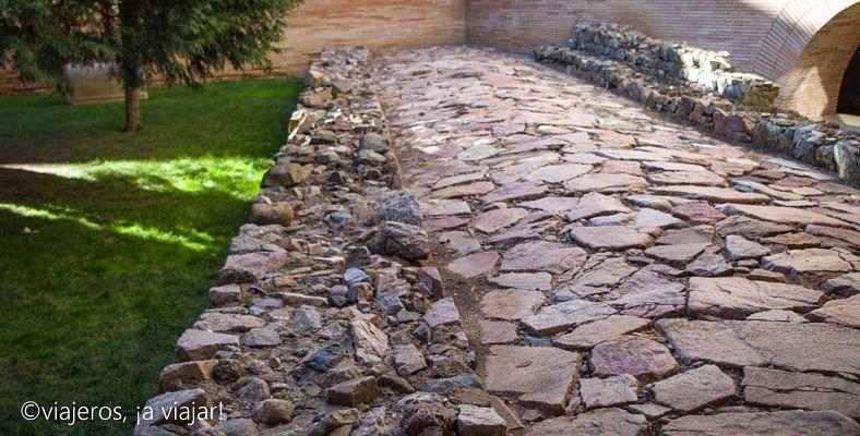 Mérida, calzada romana