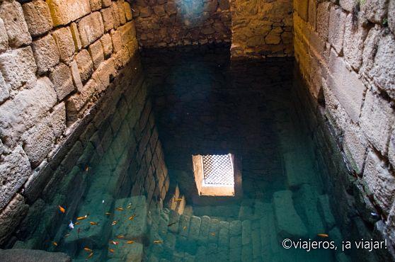 Mérida. Aljibe de Alcazaba