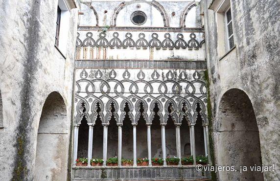 Ravello. Interior de V Rufolo