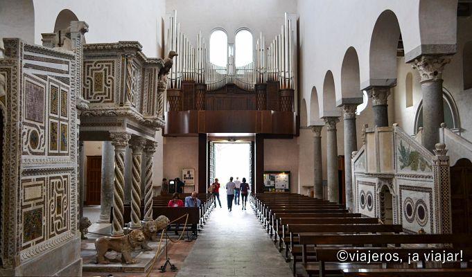 Ravello. Interior del Duomo