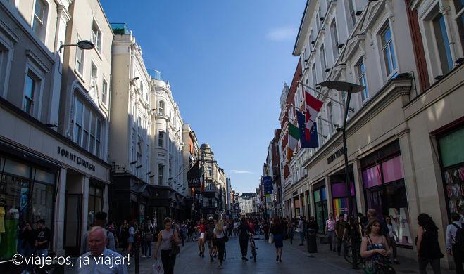 DUBLIN. Grafton Street