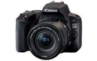 cámara Canon EOS 200D