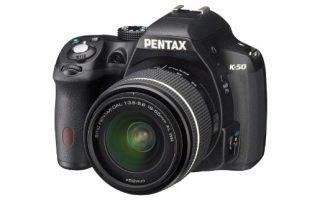 cámara Pentax k50