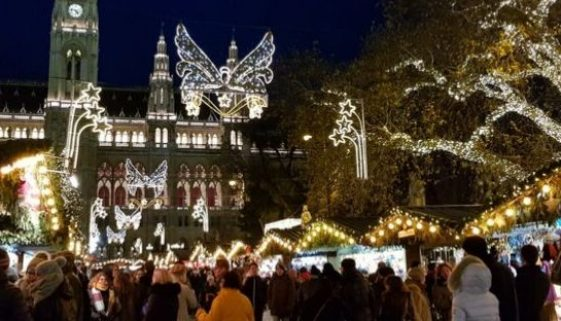 mercados navideños viena
