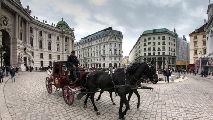 dormir en Viena a buen precio. carruaje