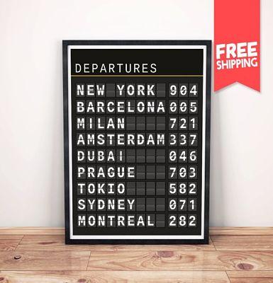 regalos viajeros. Panel vuelos