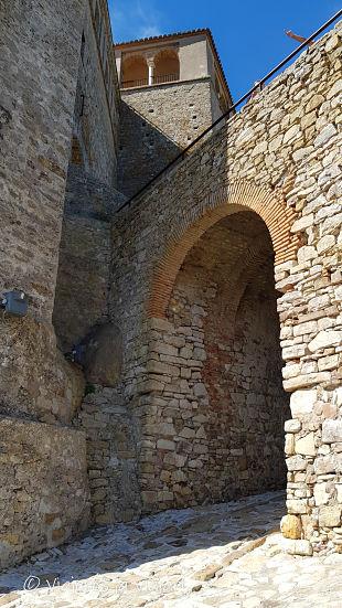 elemento arquitectónico del castillo