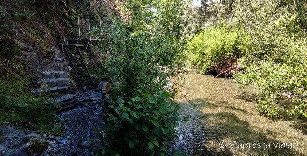 Sendero Pasarelas rio Genal