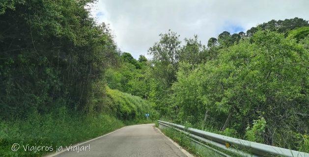 Carreteras de la Serranía
